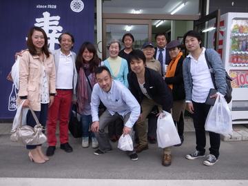 壽屋酒店記念写真