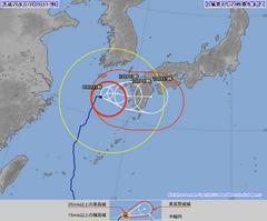 台風8号18:15