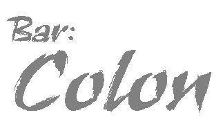 Bar:Colonロゴ